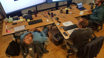 Did you know that a #MobProgramming station is less expensive than 4 cubicles?