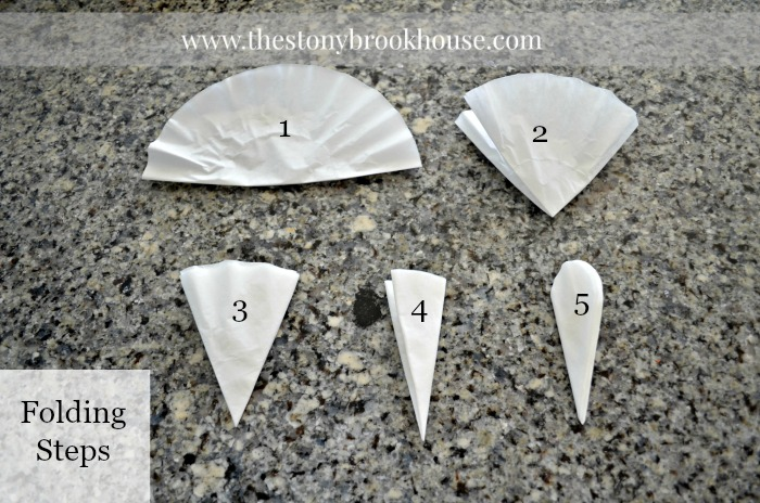 Coffee Filter Folding Steps
