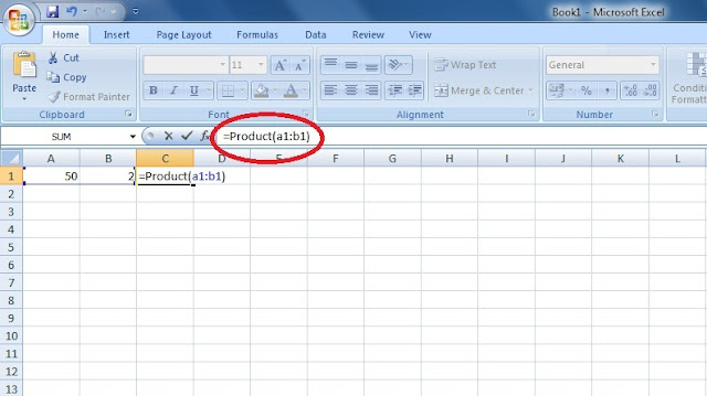 Cara Membuat Formula Perkalian dan Pembagian di Excel