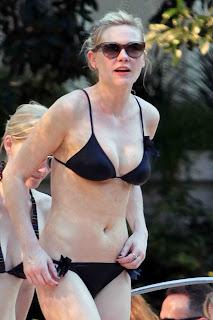 Kirsten Dunst Bikini Candids in Las Vegas
