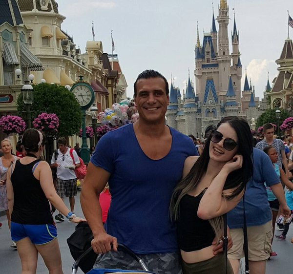 Alberto Del Rio and Paige Affair