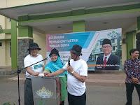 Rektor UIN Raden Intan Lampung Resmikan Panel Surya