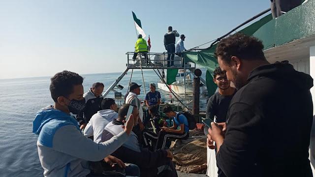 المهدية : انطلاق الهجرة الجماعية لأحباء هلال الشابة نحو إيطاليا