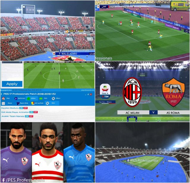 PES 2017 Professionals Patch V5.1