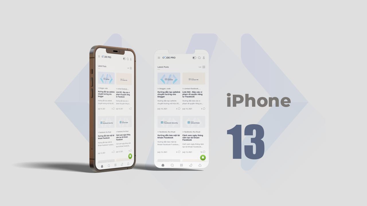 Những điểm nổi bật ở siêu phẩm iPhone 13