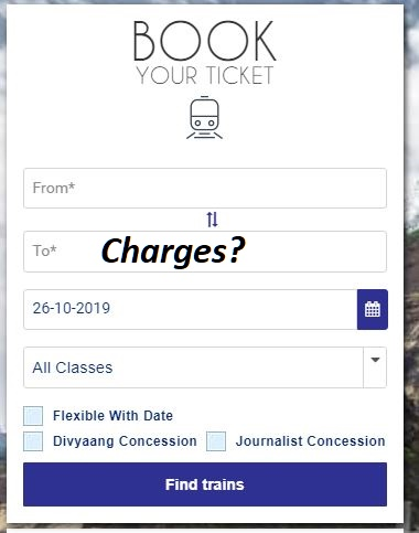 Irctc co in next generation e ticket booking system
