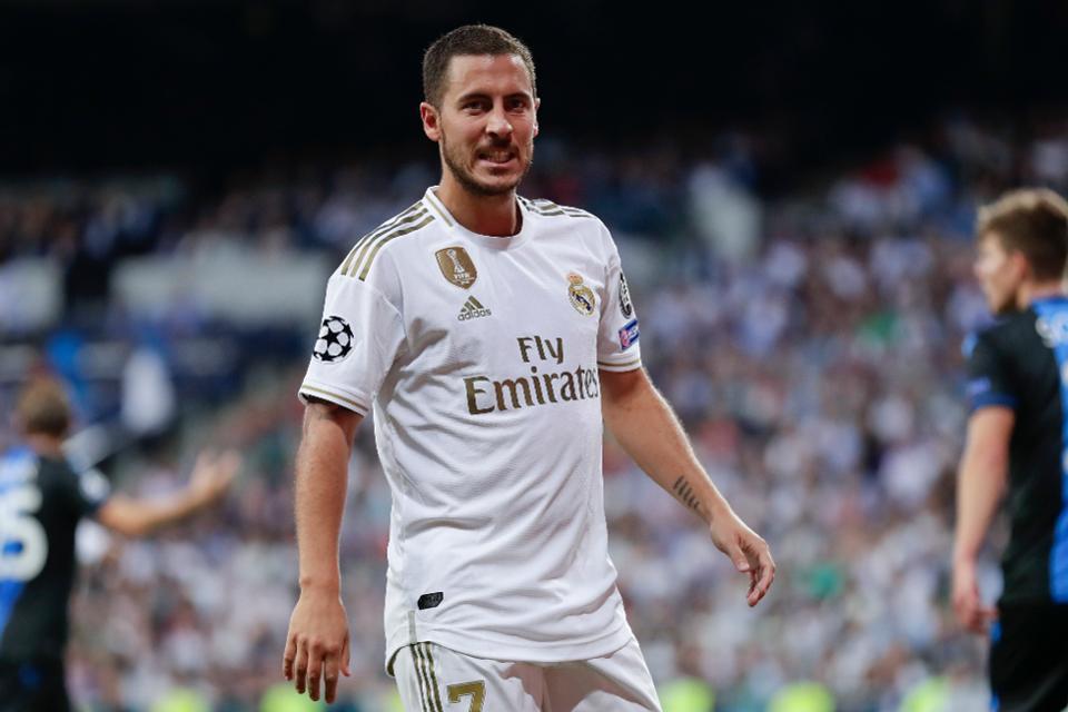 Former Chelsea star Eden Hazard