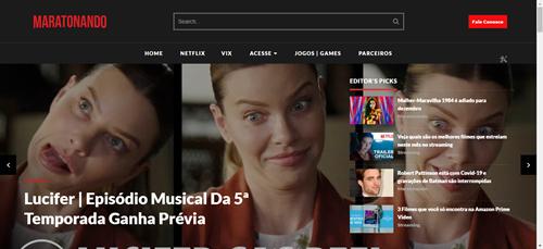 MARATONANDO: Conheça o site que traz dicas quentes de filmes, séries, jogos e games