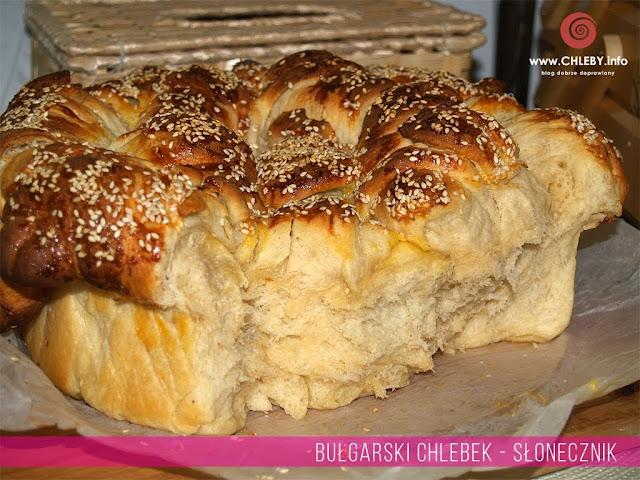 Bułgarski chlebek-słonecznik