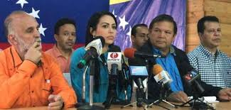 Dirigencia opositora reiteraron convocatoria para marcha el 23 de enero en toda Venezuela.