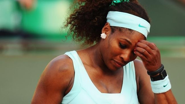 Serena Williams crashes out of US Open, loses No. 1 ranking