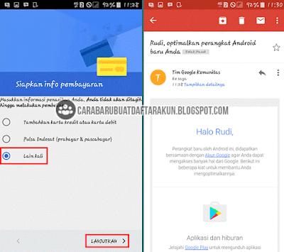 bikin email google di hp