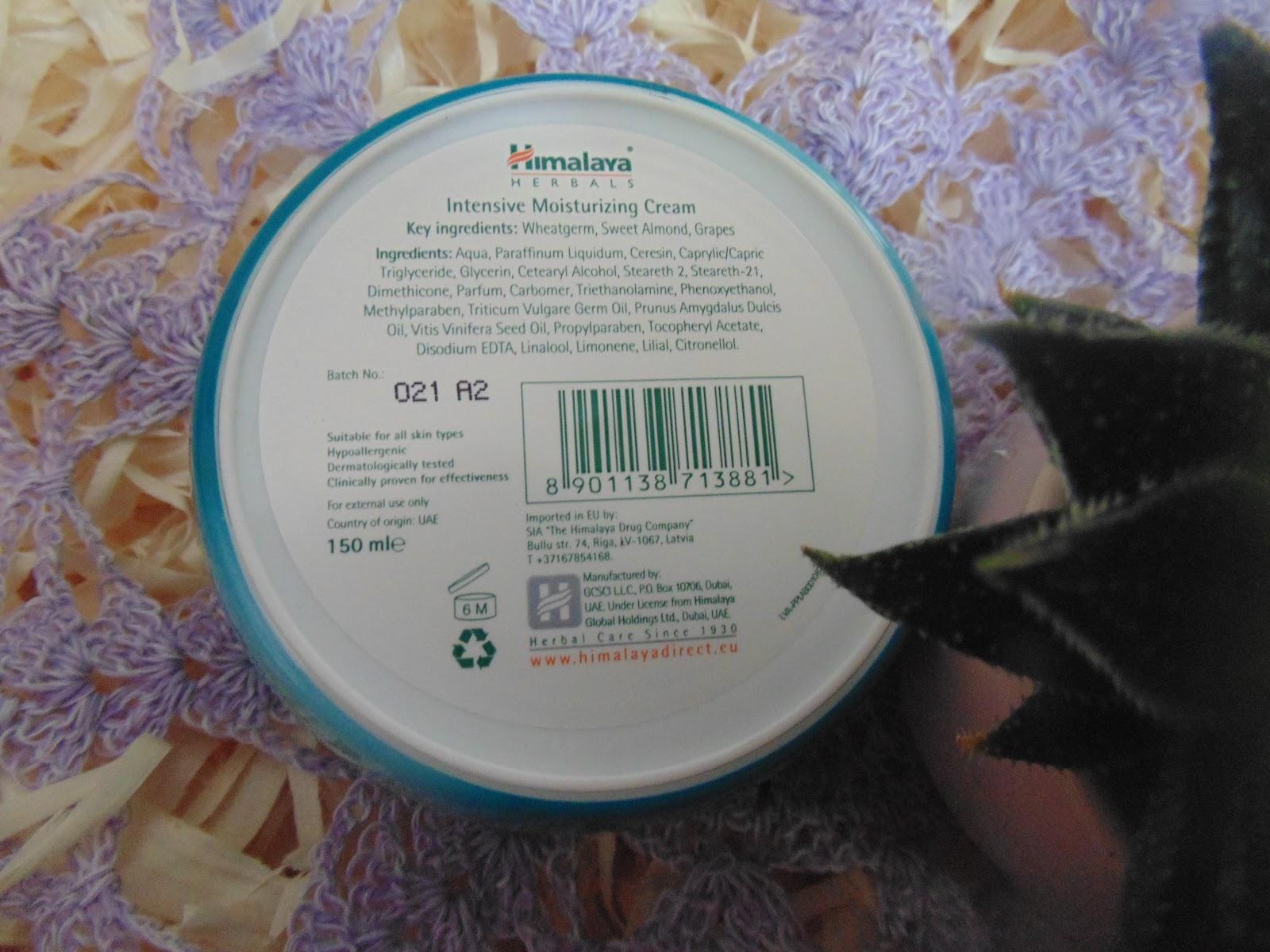 nsive moinsturizing Cream / Intensywnie nawilżający krem do twarzy i ciała z witaminą E