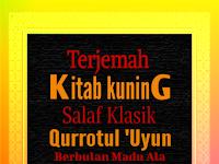 TERJRMAH KITAB QURROTUL 'UYUN