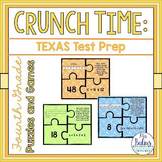 Fourth Grade Math Puzzles and Games