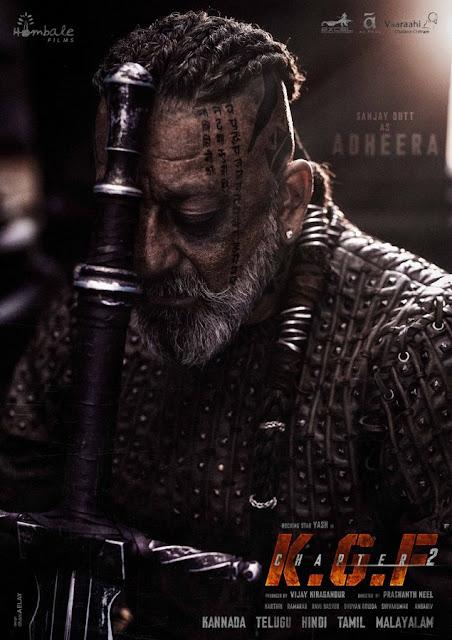 KGF 2: Sanjay Dutt's Adheera look is borrowed from Vikings,KGF 2,SANJAY DATT KGF 2 LOOKS,ADHIRA KGF 2,KGF 2 RELEASE DATE,REALESE KGF2