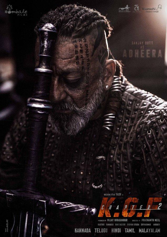 KGF 2: Sanjay Dutt's Adheera look is borrowed from Vikings