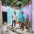 Angin Kencang Rusak Rumah Warga di Gampong Indra Damai Kluet Selatan