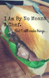 Turning Mommy: I am by no means a chef