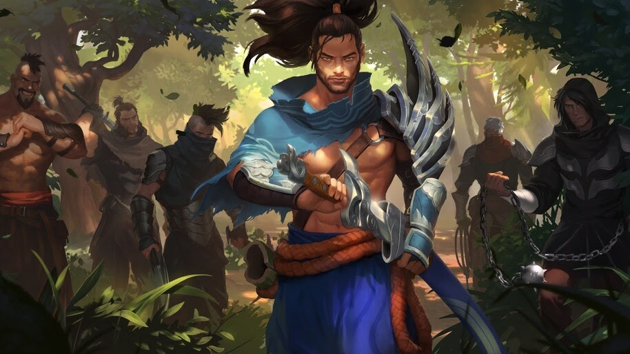 Yasuo, LoL, Legends of Runeterra, 4K, #4.1470