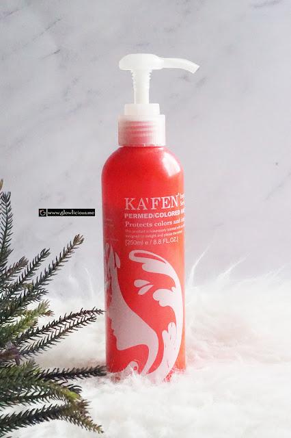 Shampoo Khusus Untuk Rambut Diwarnai   KA'FEN Impression Series Permed/Colored Shampoo's Review