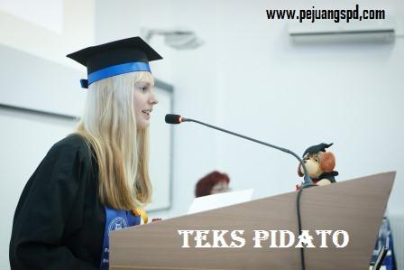 Teks Pidato untuk penerimaan mahasiswa baru