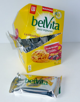 Belvita biscuits moelleux fruits rouges