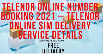 Telenor online Number Booking 2021