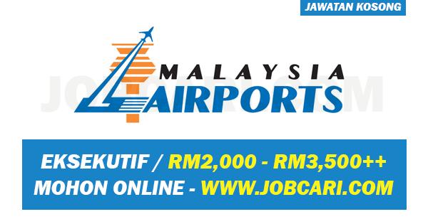 JAWATAN KOSONG MALAYSIA AIRPORT
