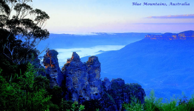 Day Trip To Blue Mountains, Australia