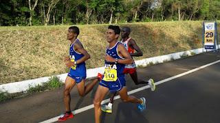 Atleta Pernambucano Marcos Antonio fica em 3º lugar na maratona internacional de Foz do Iguaçu