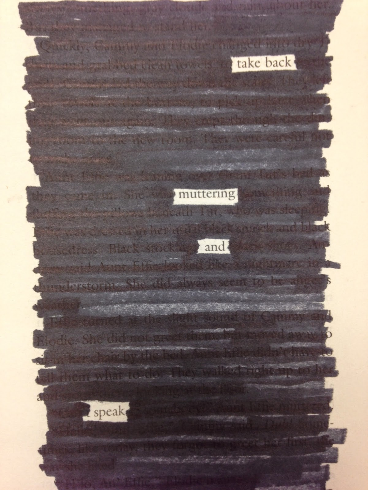 Fly away home eve bunting moln movies and tv 2018 love teach blackout poetry for the win fandeluxe Choice Image