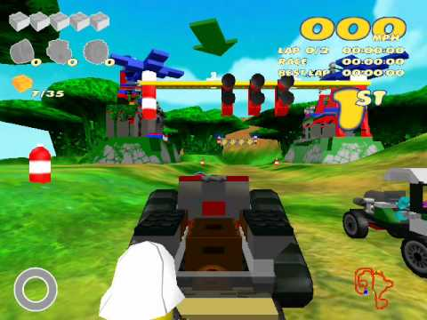 Lego Racers 2 Overview