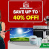 Get up to 40% Off on Xtreme Appliances this 11.11