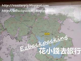 西灣亭去西灣行山地圖
