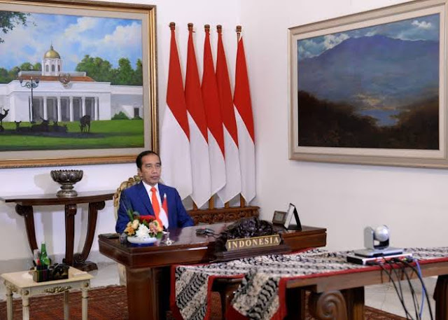 KTT Nonblok, Jokowi: Dulu Lawan Imperialis, Kini Berjuang Ringankan Utang