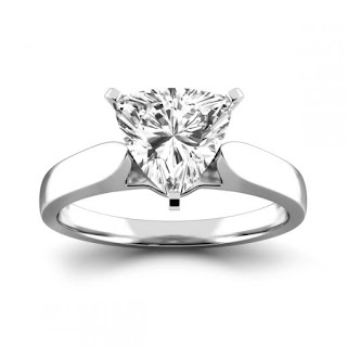 Vẻ đẹp của giác cắt kim cương Trilliant trong thiết kế nhẫn