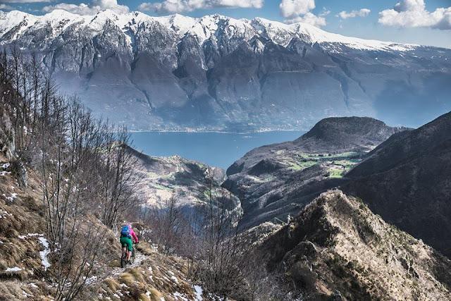 trail touren gardasee riva del garda mtb cima tignalga, petra zeller