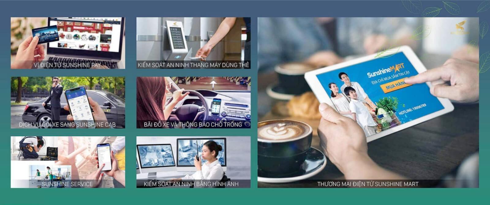 Công nghệ 4.0 của Sunshine Group