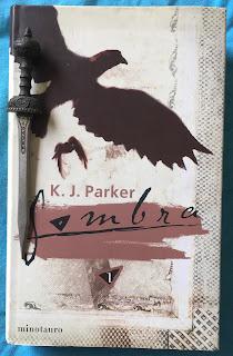 Portada del libro Sombra, de K. J. Parker