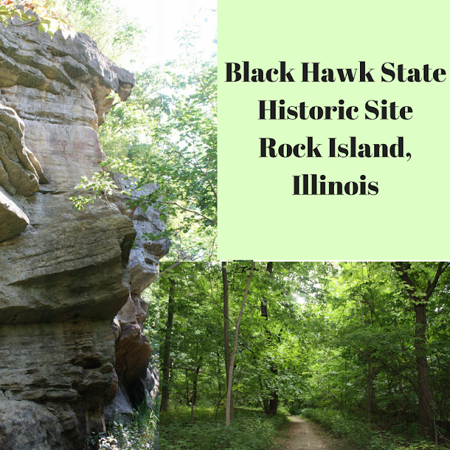 Black Hawk State Historic Site in Rock Island, Illinois