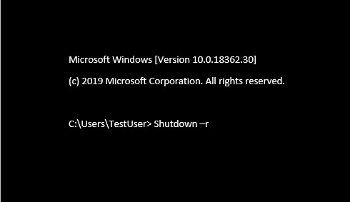 How to use Shutdown CMD (Command Prompt) Command to shut down, restart any computer