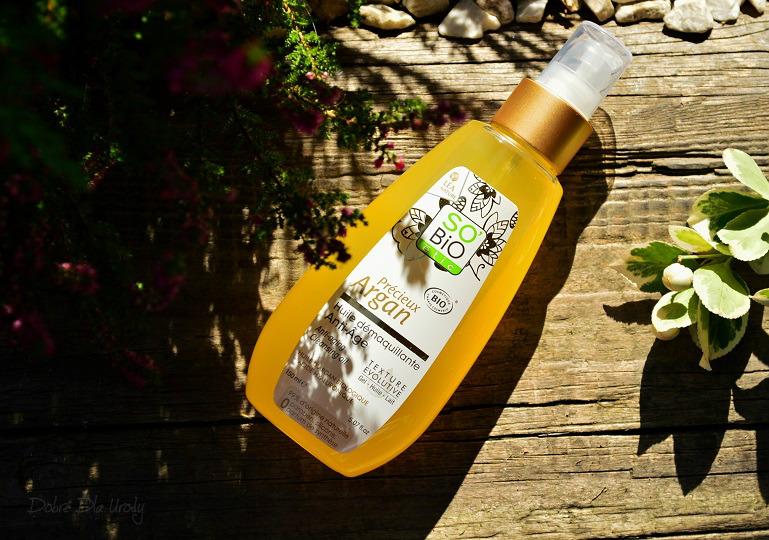 SO BIO Przeciwzmarszczkowy olejek arganowy do mycia i demakijażu Ecocert