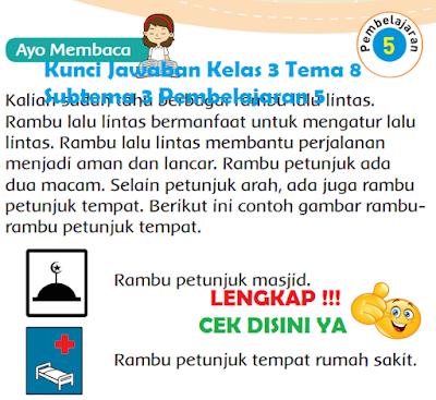 Kunci Jawaban Kelas 3 Tema 8 Subtema 3 Pembelajaran 5 www.simplenews.me