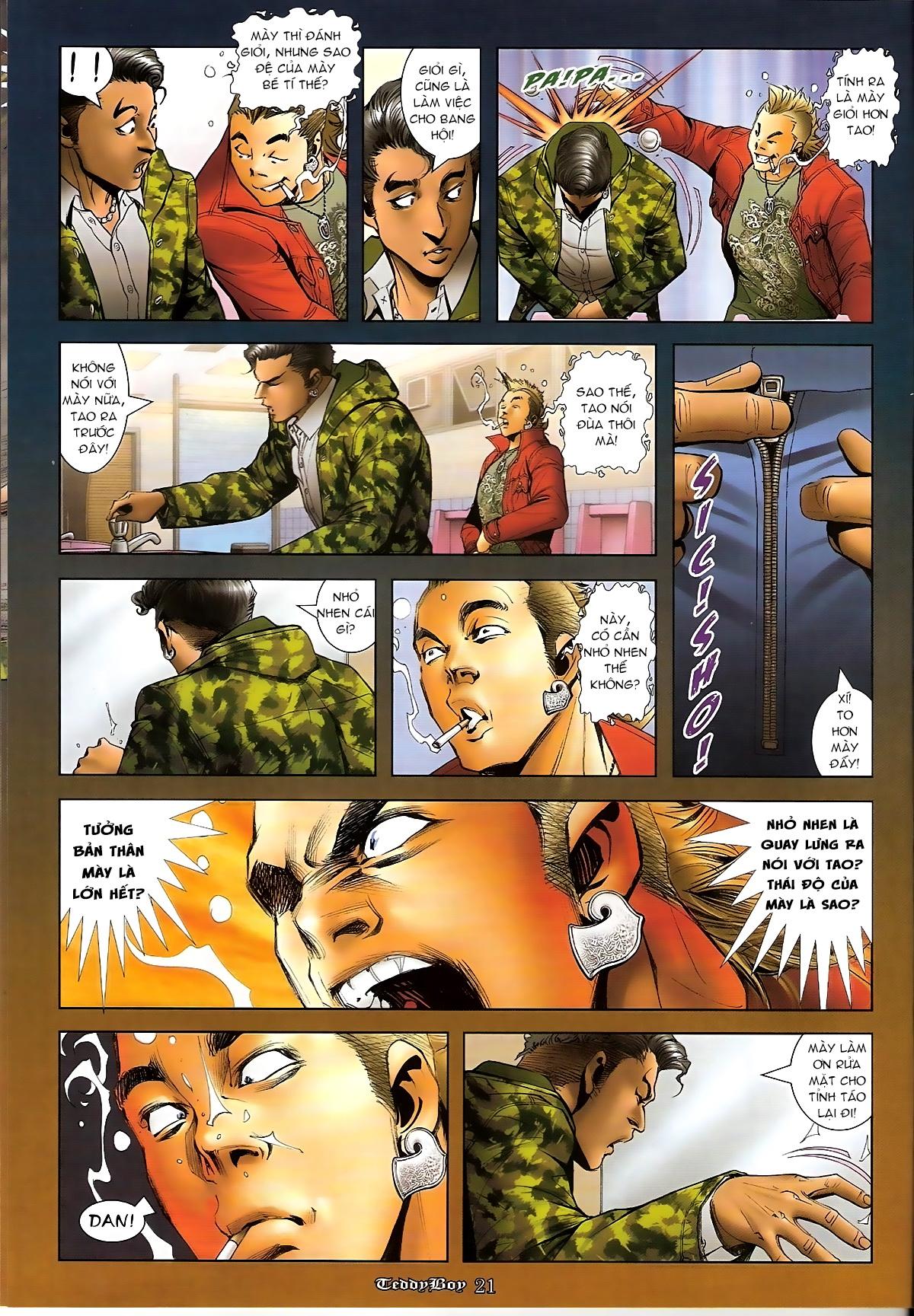 Người Trong Giang Hồ - Chapter 1267: Quá Giang Hổ vs Phi Châu Hổ - Pic 18