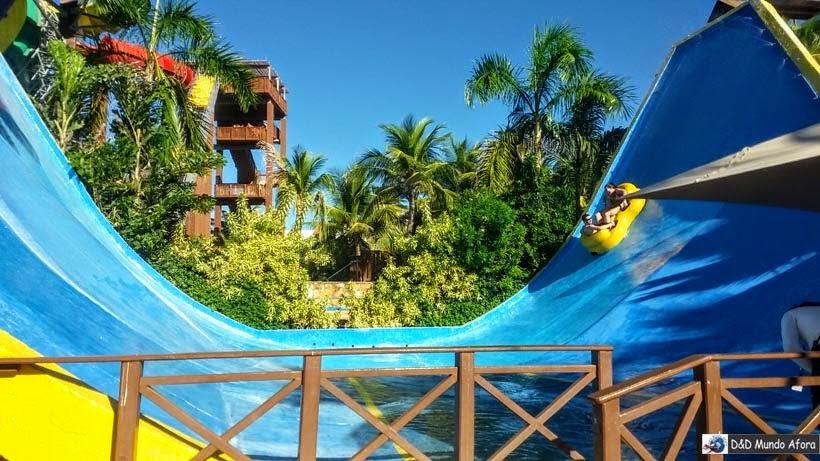 Toboágua Kalafrio - Beach Park - parque aquático do Ceará