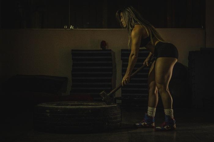 A atleta Wellness Karla Rocha se prepara para competição em novembro. Foto: Paulista Fotografias/Juliano Mendes Assessoria