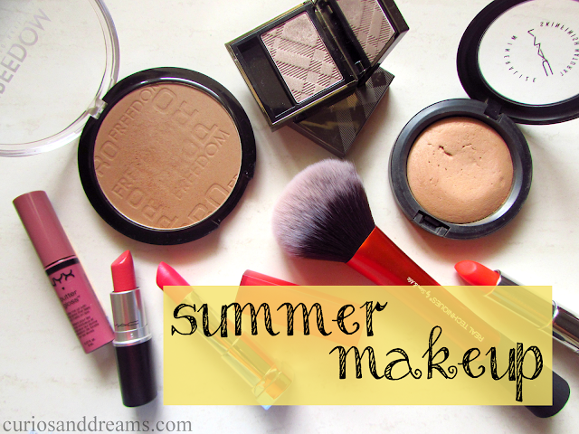 Guide to Summer Makeup, Summer Makeup, Summer Makeup essentials