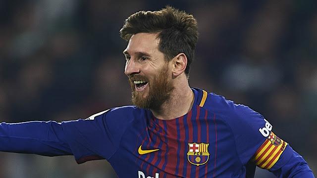 Lionel Messi the star core of Barcelona