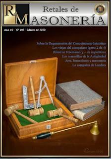 Retales Masonería 105 – Marzo 2020